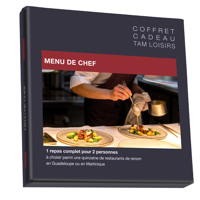 Box menu de chef